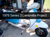 Anthony S3 Lambretta project